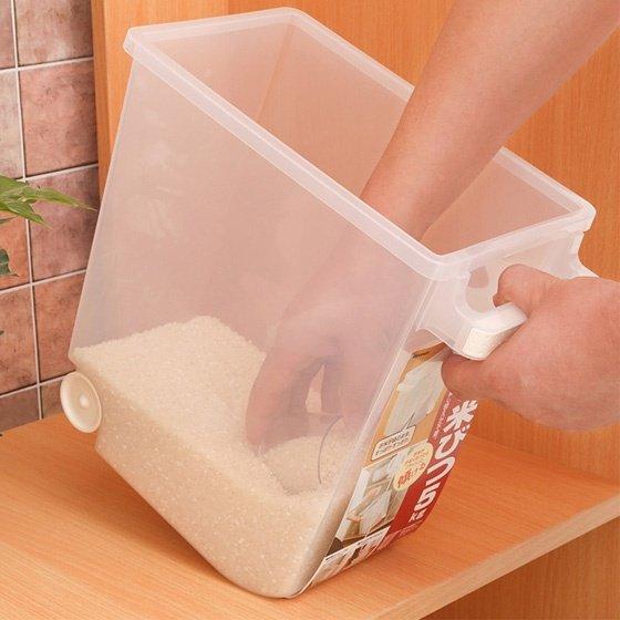 Thùng đựng gạo thông minh Inomata Nhật Bản