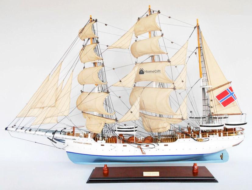 Mô hình tàu Statsraad Lehmkuhl