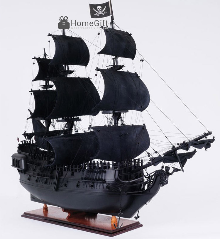 Ý nghĩa phong thủy của tàu cướp biểnNgọcTrai Đen