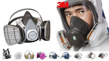 Mặt nạ, khẩu trang phòng khói độc chuyên dụng hãng 3M có tốt không?
