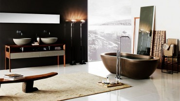 Cảm nhận vẻ đẹp tinh tế từ phong cách nội thất phòng tắm tối giản của Neutra