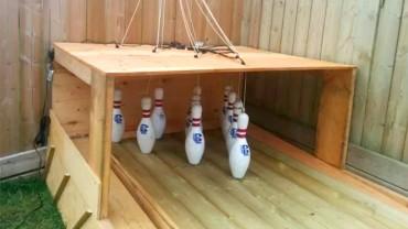 Tự làm sàn chơi Bowling chuyên nghiệp sau vườn