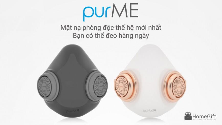 purME - Mặt nạ phòng độc đa năng thế hệ mới nhất bạn có thể đeo hàng ngày
