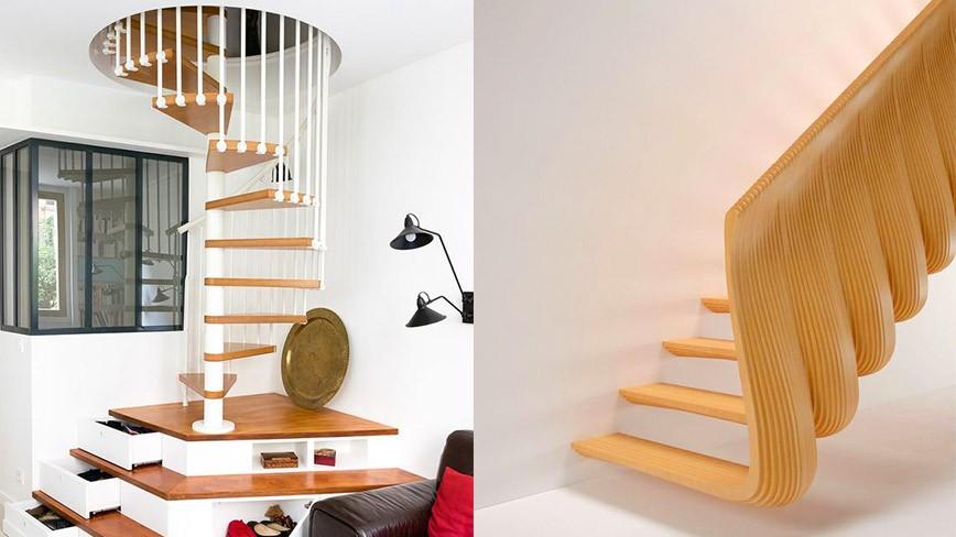 Trang trí, sáng tạo với cầu thang, tại sao không?