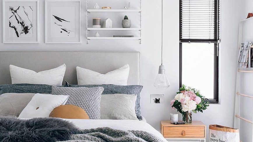 4 vật dụng trang trí hô biến phòng ngủ đơn điệu trở nên độc đáo