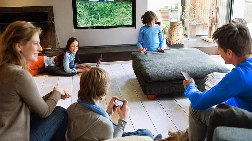 Câu chuyện về căn phòng khách bình yên - nơi gắn kết gia đình
