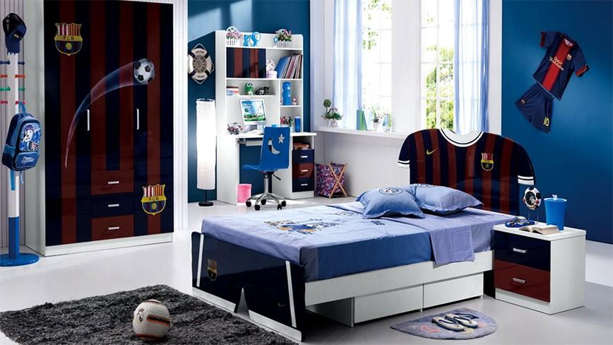 Thiết kế phòng ngủ trẻ em cá tính cho những cô bé, cậu bé đầy đam mê!