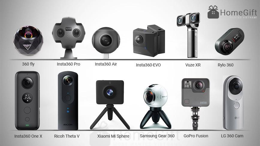 Top Camera 360 độ 4K tốt nhất năm 2019 [Review đánh giá tổng