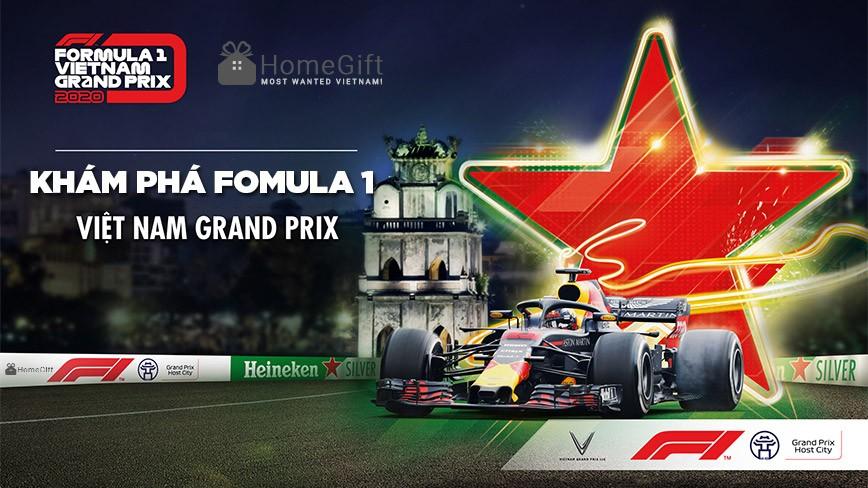 Khám phá giải đua xe F1 đầu tiên tại Việt Nam