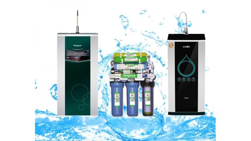 Các loại máy lọc nước tốt nhất và bán chạy nhất 2019